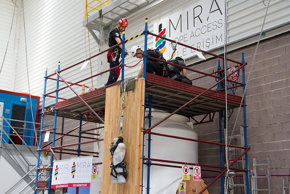 Working At Height Job Safety Trainings